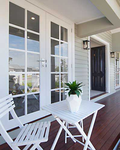 Front porch New Home Solutions