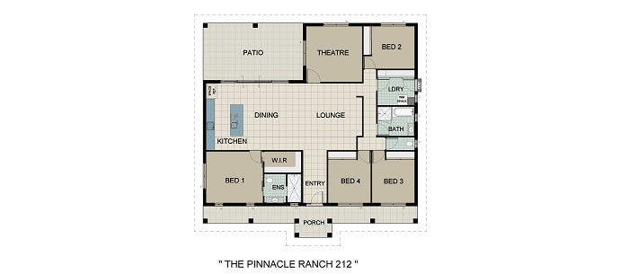 Pinnacle Ranch Home and Land Package New Home Solutions