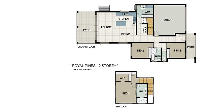 Royal Pines 222 Home and Land Package New Home Solutions